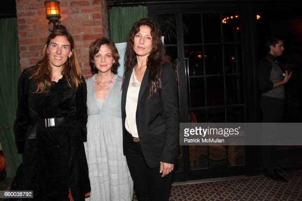 Amy Berg Libby Spears and Catherine Keener attend House of Lavande Hosts the Nest Foundation Gala at Bowery Hotel on May 1 2009 in New York City