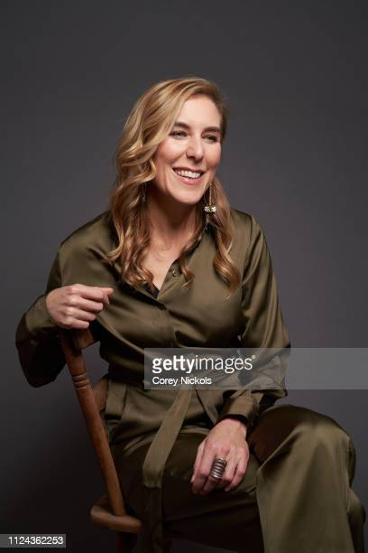 Amy Berg of HBO's 'The Case Against Adnan Syed' poses for a portrait during the 2019 Winter TCA Portrait Studio at The Langham Huntington Pasadena on...