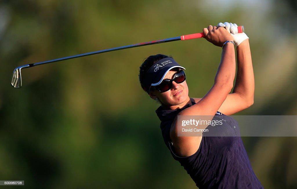 Omega Dubai Ladies Masters - Day One : News Photo