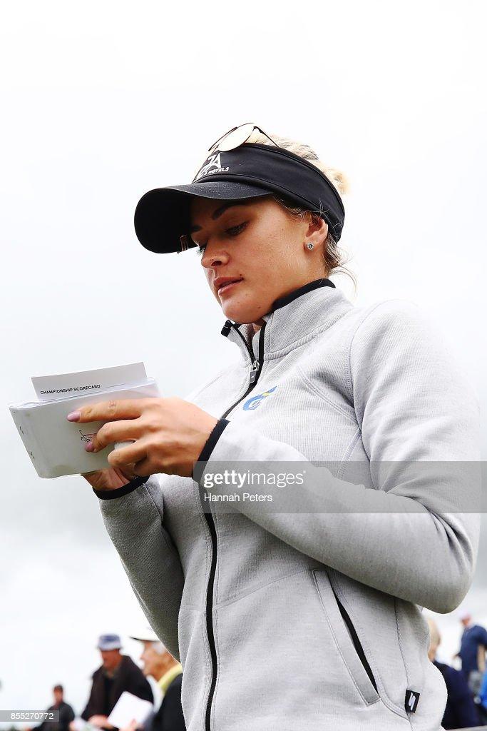 MCKAYSON New Zealand Women's Open - Day 2 : News Photo