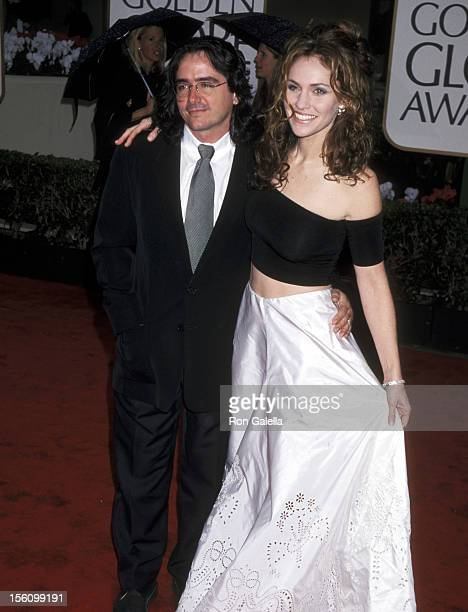 Amy Brenneman and Brad Silberling during 57th Annual Golden Globe Awards Arrivals at Beverly Hilton Hotel in Los Angeles California United States