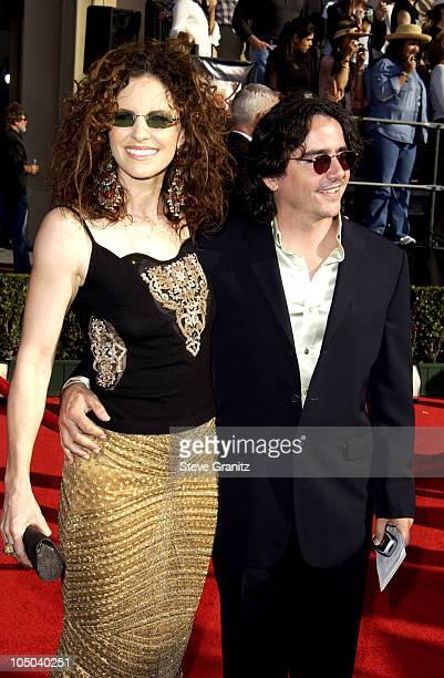 Amy Brenneman and Brad Silberling during 9th Annual Screen Actors Guild Awards Arrivals at Shrine Exposition Center in Los Angeles California United...