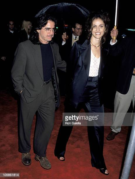Amy Brenneman and Brad Silberling during 'Daylight' Los Angeles Premiere at Mann Chinese Theatre in Hollywood California United States