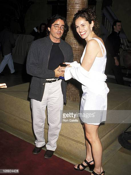 Amy Brenneman and Brad Silberling during 'Election' Los Angeles Premiere at Egyptian Theater in Hollywood California United States