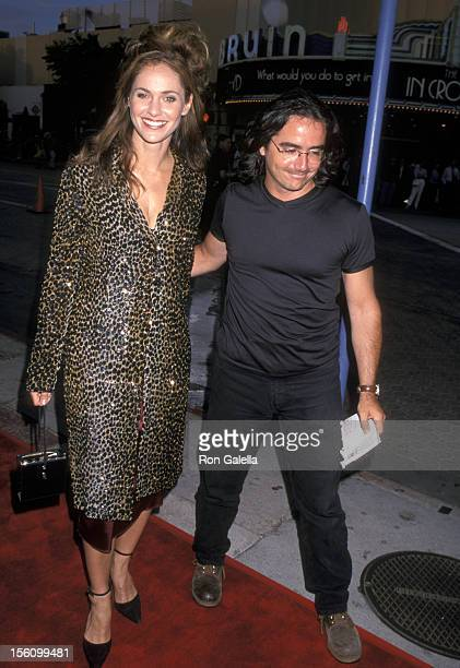 Amy Brenneman and Brad Silberling during 'Hollow Man' Los Angeles Premiere at Mann Village Theatre in Westwood California United States