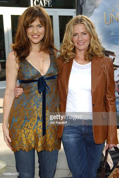 Amy Brenneman and Elisabeth Shue during 'Lemony Snicket's A Series Of Unfortunate Events' World Premiere Arrivals at Grauman's Chinese Theater in...
