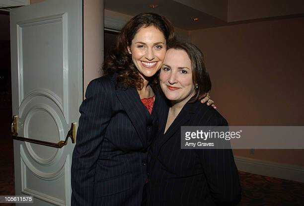 Amy Brenneman and Jillian Armenante during Brady Center to Prevent Gun Violence Honoree Dinner December 7 2005 at Beverly Hills Hotel in Beverly...