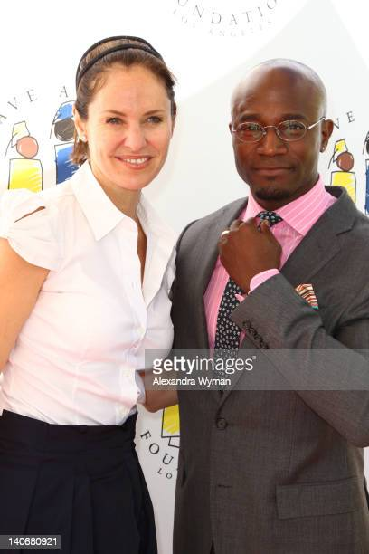 Amy Brenneman and Taye Diggs at I Have A Dream Foundation's 14th Annual Dreamers Brunch held at The Skirball Cultural Center on March 4, 2012 in Los...