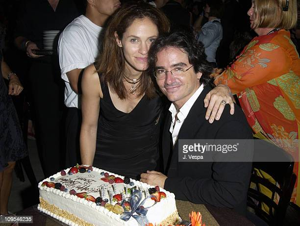 Amy Brenneman and writer/director Brad Silberling during 2002 Toronto Film Festival Motorola 'Moonlight Mile' Party at Power Plant in Toronto Ontario...