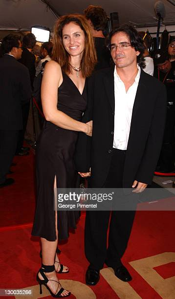 Amy Brenneman and writer/director Brad Silberling during 2002 Toronto Film Festival 'Moonlight Mile' Premiere at Roy Thompson Hall in Toronto Ontario...