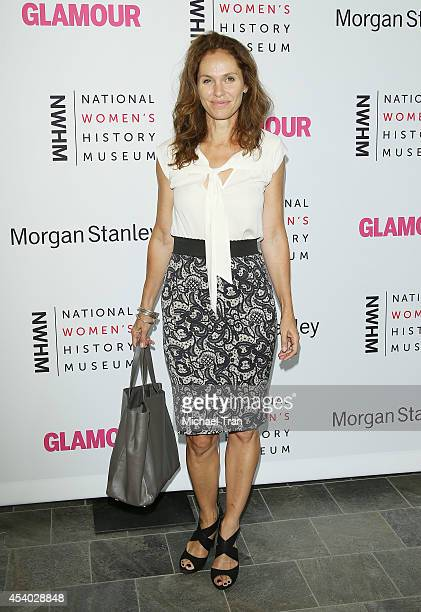 Amy Brenneman arrives at the National Women's History Museum's 3rd Annual Women Making History event held at Skirball Cultural Center on August 23,...