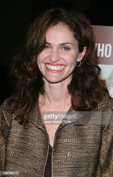 Amy Brenneman during '10 Items or Less' Los Angeles Premiere Arrivals at Paramount Theater in Hollywood California United States