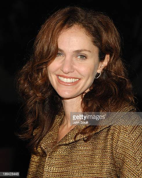 Amy Brenneman during 10 Items or Less Los Angeles Premiere Arrivals at Paramount Theater in Los Angeles California United States