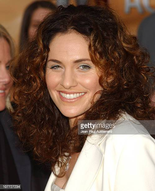 Amy Brenneman during 10th Annual Screen Actors Guild Awards Arrivals at Shrine Auditorium in Los Angeles California United States