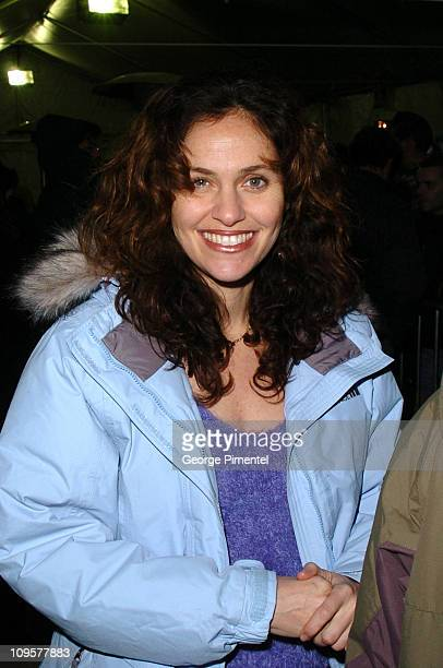 Amy Brenneman during 2005 Sundance Film Festival Nine Lives Premiere at Eccles Theatre in Park City Utah United States