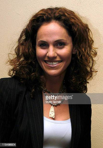 Amy Brenneman during 4th Annual Bridge Awards at Autry Museum of Western Heritage Griffith Park in Los Angeles California United States