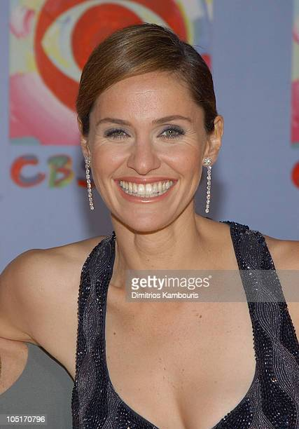 Amy Brenneman during CBS at 75 at Hammerstein Ballroom in New York City New York United States