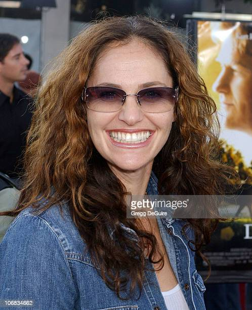 Amy Brenneman during DreamWorks Pictures' Dreamer Inspired by a True Story Los Angeles Premiere Arrivals at Mann Village Theatre in Westwood...