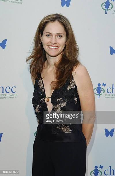 Amy Brenneman during Ford Escape Hybrid at CHEC's Healthy Earth Healthy Child at Private Residence in Pacific Palisades California United States