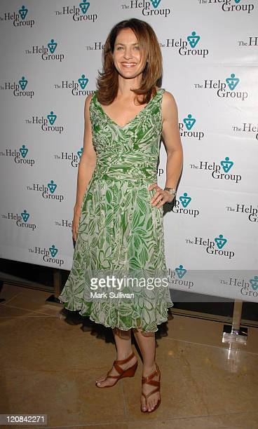 Amy Brenneman during Help Group Huminatarian Awards at The Beverly Hilton Hotel in Beverly Hills CA United States