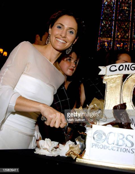 Amy Brenneman during 'Judging Amy' Celebrates Its 100th Episode Milestone at Westminster Presbyterian Church in Pasadena California United States