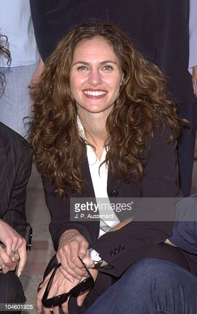 Amy Brenneman during Revlon/Ucla Breast Center Benefit at UCLA Royce Hall in Westwood California United States