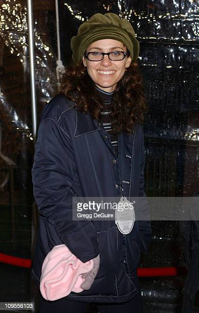 Amy Brenneman during Snow White An Enchanting New Musical Premiere Arrivals at Fantasyland Theatre at Disneyland in Anaheim California United States