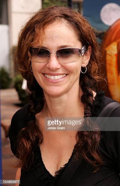Amy Brenneman during Wallace Gromit The Curse of the WereRabbit Los Angeles Screening at Mann Village Theatre in Los Angeles California United States