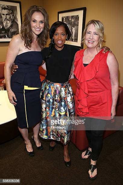 Amy Brenneman Regina King and Ann Dowd attend the 'The Leftovers' FYC at Paramount Studios on June 5 2016 in Hollywood California