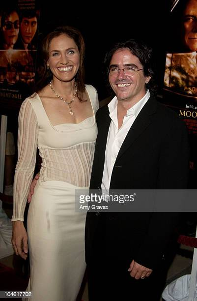 Amy Brenneman writer/director Brad Silberling during 'Moonlight Mile' Premiere Los Angeles at Academy of Motion Picture Arts and Sciences in Beverly...