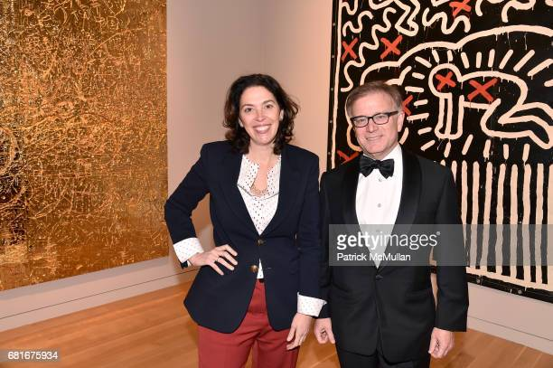 Amy Cappellazzo and Mike Goss attend the Alzheimer's Drug Discovery Foundation Eleventh Annual Connoisseur's Dinner at Sotheby's on May 10 2017 in...
