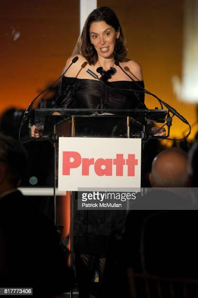 Amy Cappellazzo attends LEGENDS 2010 A Pratt Institute Scholarship Benefit at 7 World Trade on October 20 2010 in New York City