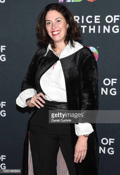 Amy Cappellazzo attends 'The Price of Everything' New York Premiere at Museum of Modern Art on October 18 2018 in New York City