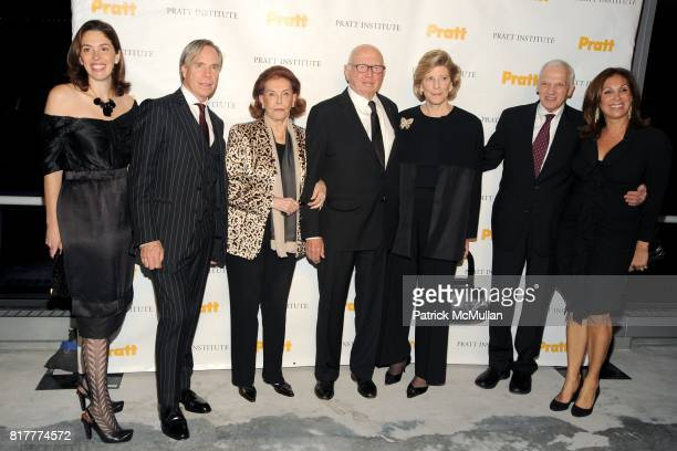 Amy Cappellazzo Tommy Hilfiger Emily Fisher Landau Ellsworth Kelly Agnes Gund Dr Thomas F Schutte and Marjorie Kuhn attend LEGENDS 2010 A Pratt...