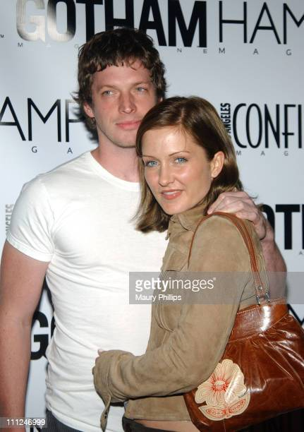 Amy Carlson and Guest during LA Confidential Emmy / Fall Fashion Cover Party at Shelter Supper Club in West Hollywood California United States