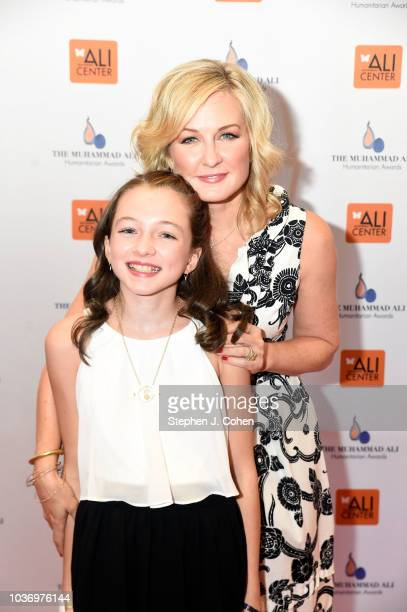 Amy Carlson and Lyla Butler attends the 2018 Muhammad Ali Humanitarian Awards on September 20 2018 in Louisville Kentucky