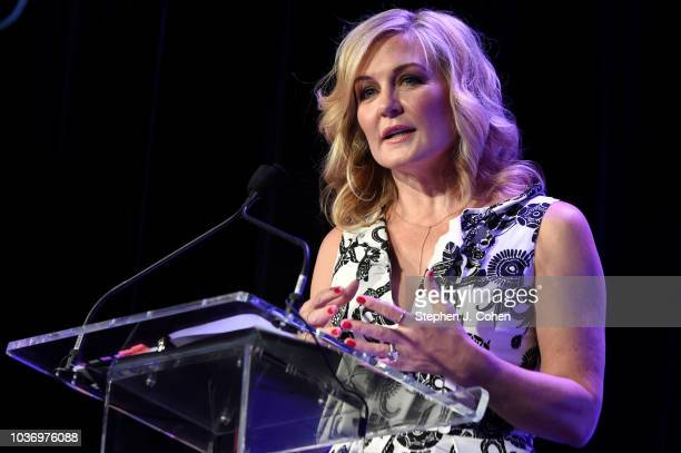 Amy Carlson attends the 2018 Muhammad Ali Humanitarian Awards on September 20 2018 in Louisville Kentucky