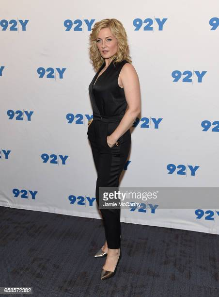 Amy Carlson attends the Blue Bloods 150th Episode Celebration at 92nd Street Y on March 27 2017 in New York City