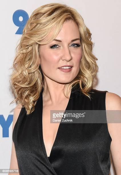Amy Carlson attends the Blue Bloods 150th episode celebration at 92Y on March 27 2017 in New York City