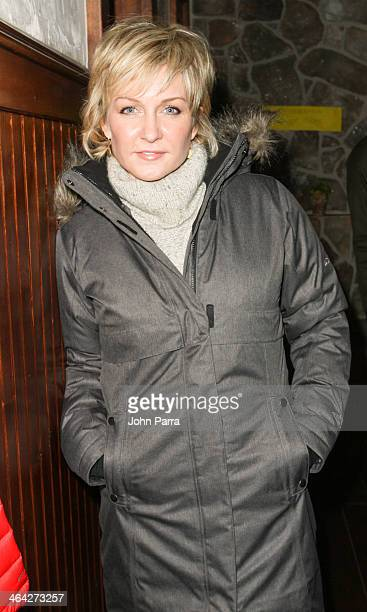 Amy Carlson attends the Columbia Lounge At The Village At The Lift Day5 on January 21 2014 in Park City Utah