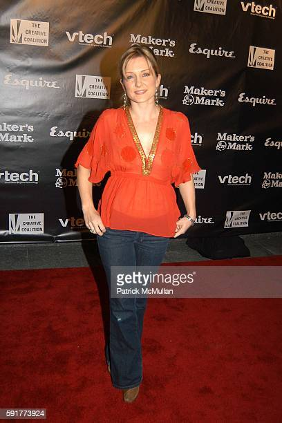 Amy Carlson attends The Creative Coalition and Esquire Magazine 2005 Spolight Awards Gala at Astor Place Esquire on November 10 2005 in New York City