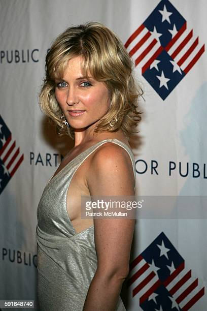 Amy Carlson attends The Partnership for Public Service's Third Annual Black Tie Gala Honoring John McCain with The Theodore Roosevelt Award for the...