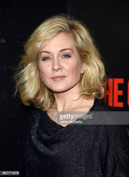 Amy Carlson attends the The Commuter New York Premiere at AMC Loews Lincoln Square on January 8 2018 in New York City