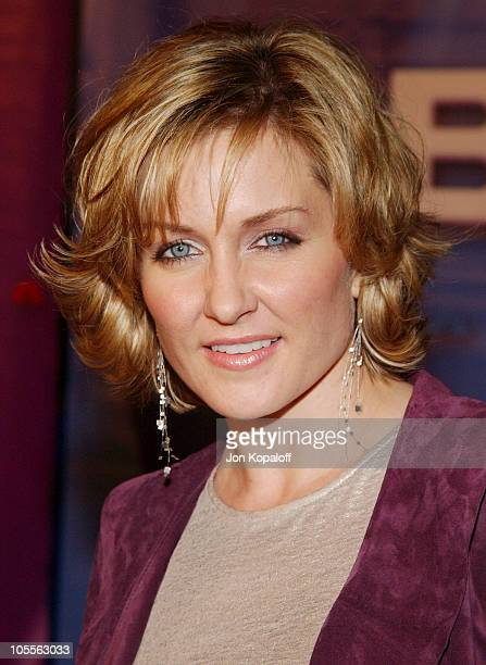 Amy Carlson during 2005 NBC Winter TCA All Star Party at Hard Rock Cafe in Universal City California United States