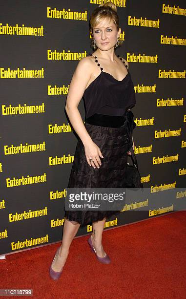 Amy Carlson during Entertainment Weekly 11th Annual Oscar Viewing Party at Elaines Restaurant in New York City New York United States