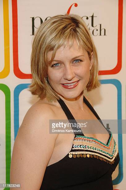 "Amy Carlson during Entertainment Weelky's ""Must List"" Arrivals/Red Carpet at Buddha Bar in New York City New York United States"