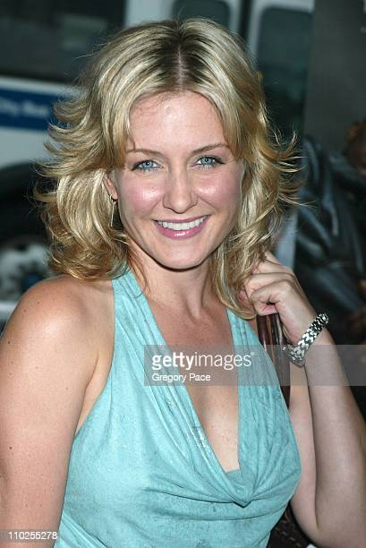 Amy Carlson during 'Four Brothers' New York City Premiere Outside Arrivals at Clearview Chelsea West in New York City New York United States