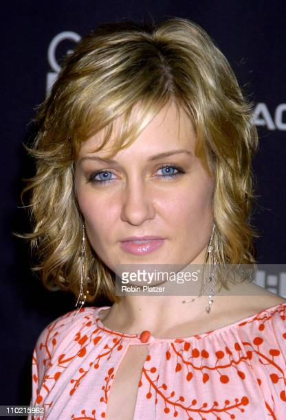 Amy Carlson during Gen Art Film Festival Loverboy Premiere Inside Arrivals at Ziegfeld Theatre in New York City New York United States