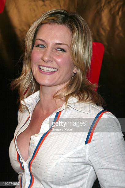 Amy Carlson during Launch of the New Big TV Guide Magazine Red Carpet Arrivals at Home and Guest House in New York City New York United States