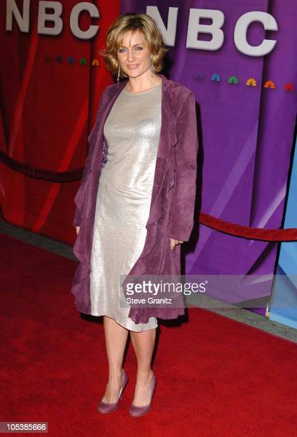 Amy Carlson during NBC Winter Press Tour Party Arrivals at Universal CityWalk in Universal City California United States